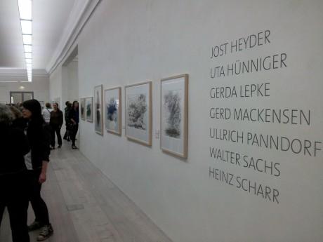 """Sieben Künstler """"Unterm Strich"""" im Angermuseum Erfurt."""
