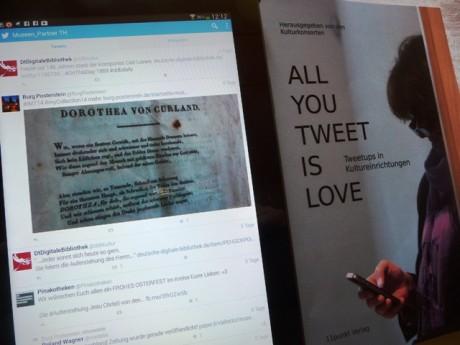 Komplexe Sache unter komplexen Bedingungen: Twittern im Museum. Foto: mip
