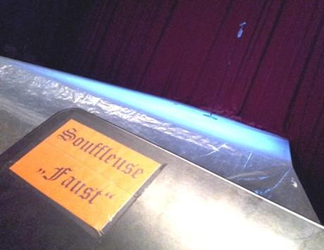 Nee, nicht Thieme-Faust, sondern Horwitz-Wallenstein wird souffliert. Fotos: mip