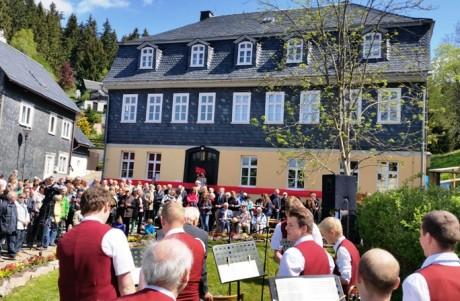 Gerade wiedereröffnet am Waldrand von Stützerbach: das Museum Goethehaus. Foto: mip