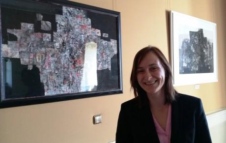Kunstwissenschaftlerin Sabrina Lüderitz bearbeitet den Nachlass von ATM.