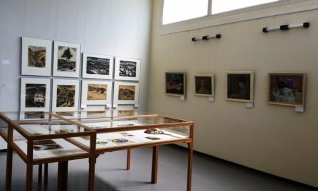 Blick in die Ausstellung im Haus am Horn in Weimar. Fotos: mip
