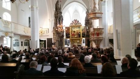 """Die Thüringer Landesausstellung """"Die Ernestiner. Eine Dynastie prägt Europa"""", - eröffnet in der Weimarer Herderkirche."""