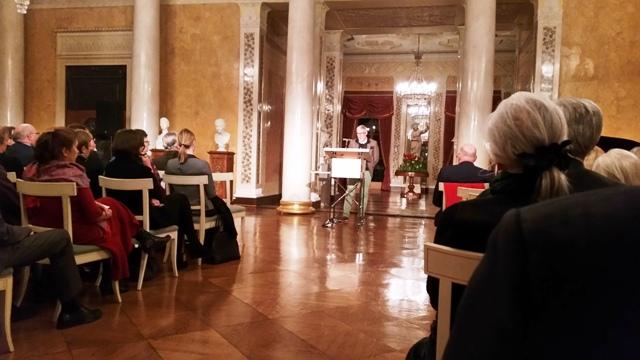 Stiftungsratsvorsitzender Benjamin Hoff redet Tacheles beim Jahresempfang der Klassik Stiftung Weimar.