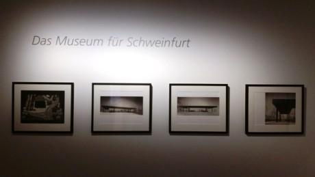 Entwurf für den nicht realisierten Museumsneubau in Schweinfurt.