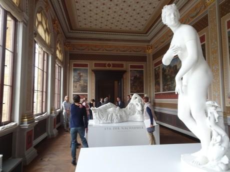 Blick in die Preller-Galerie im Neuen Museum Weimar.