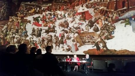 Buchpremiere im Bildsaal des Panorama Museums am 7. Oktober 2017.