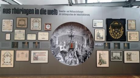 Wall of Fame. Thüringer Industrie zu Hause und in der Welt.