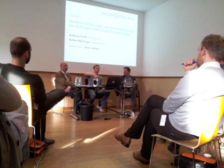 Stefan Plöchinger plaudert über die neue SZ am Wochenende und die digitale Zeitungswelt. Alle Fotos: mip