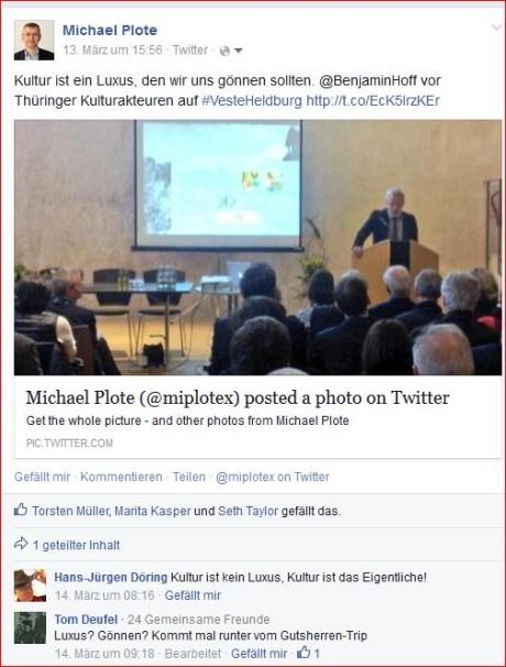 Kommentare, Likes, Interaktionen. Hier auf FB. Abb./Fotos: mip