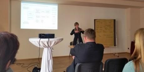 Workshop mit Ratschlägen zur kulturtouristischen Vermarktung, vorgestellt von Kulturberaterin Lara Buschmann. Fotos: mip