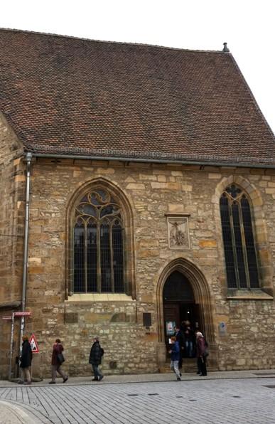 Die Michaeliskirche in der Altstadt von Erfurt ist ein historischer Luther-Ort. Foto: mip