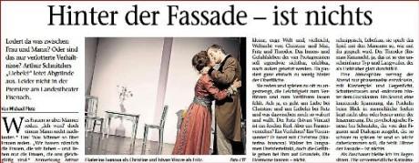 Aus der gedruckten Zeitung. Screenshot: mip