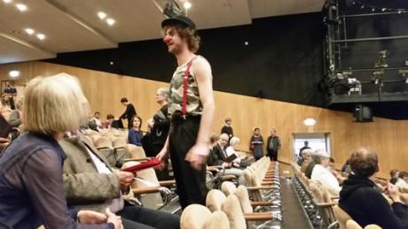 In der Redoute, der Interimsspielstätte des Deutschen Nationaltheaters. Fotos: mip