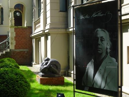 Gekündigt. Das Käthe-Kollwitz-Museum soll aus der Berliner Fasenenstraße 24 ausziehen. Fotos: mip
