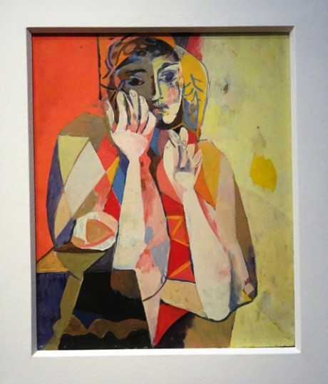 """Ist das ein Picasso? Nee, ein früher Willi Sitte """"Sich Stützende"""" von 1957."""